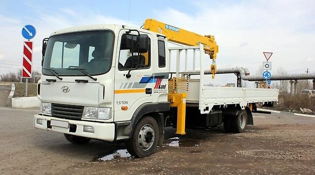 Манипулятор 5 тонн Hyundai HD 120
