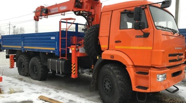 Манипулятор 5 тонн КамАЗ 43118