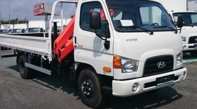 Манипулятор Hyundai HD 78 3 тонны