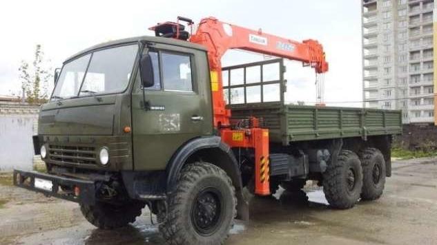 Манипулятор 7 тонн КамАЗ 4310